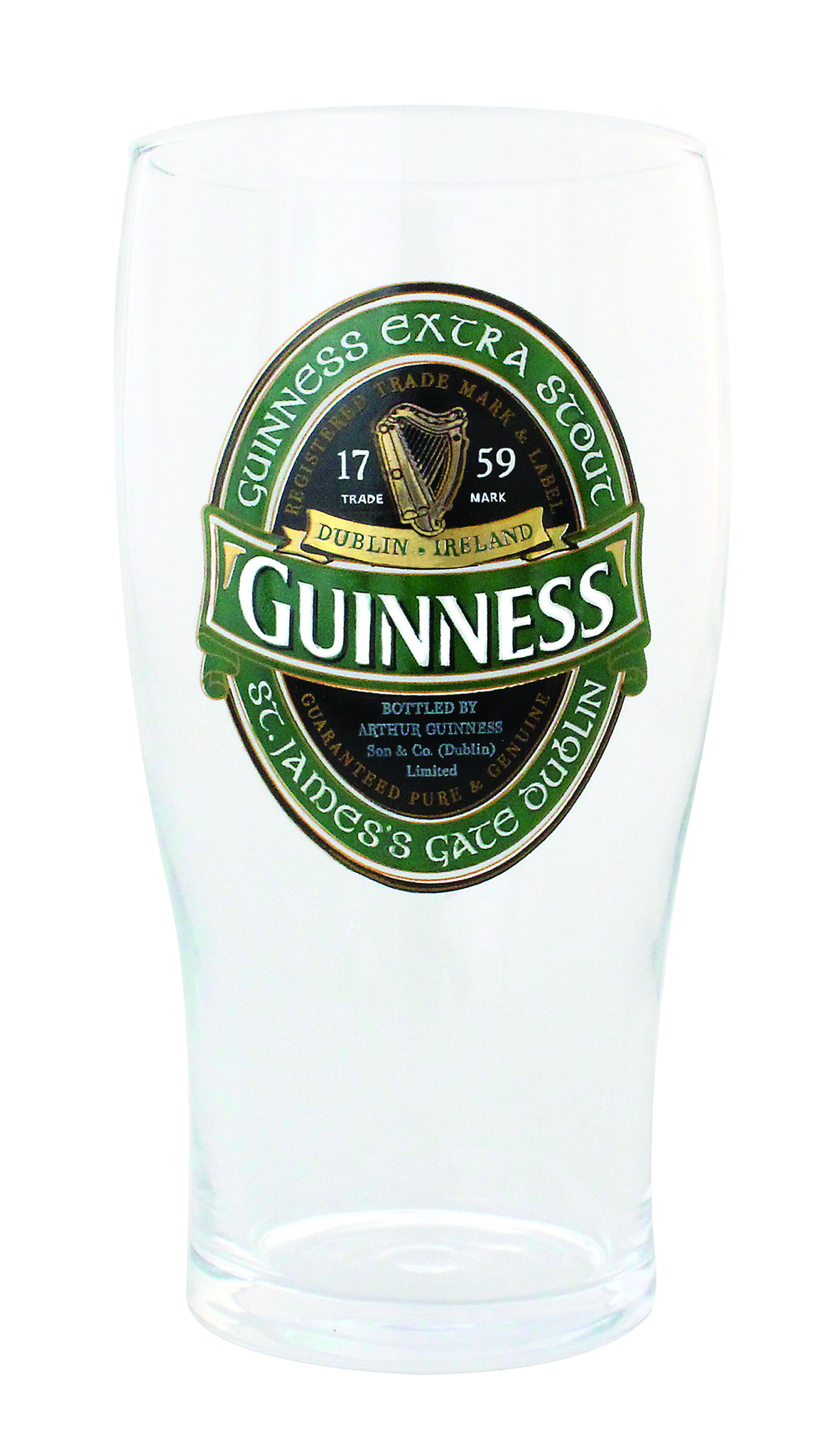 GUINNESS® GREEN COLLECTION PINT GLASS
