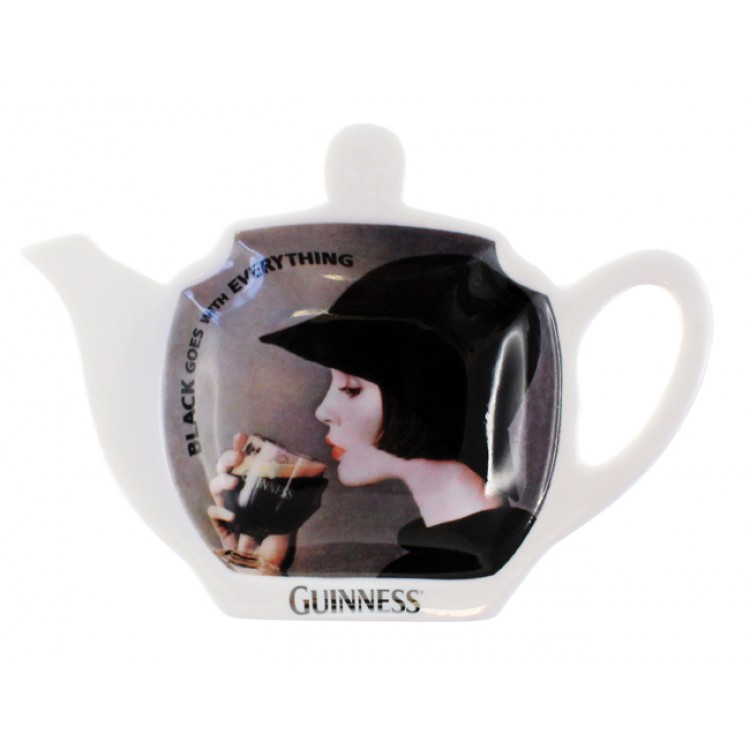 Guinness Girl Tea Bag Holder