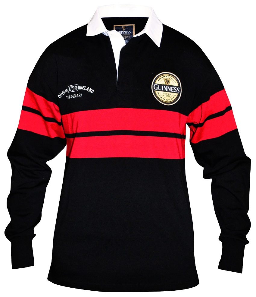 Guinness® Red Rugby Jersey