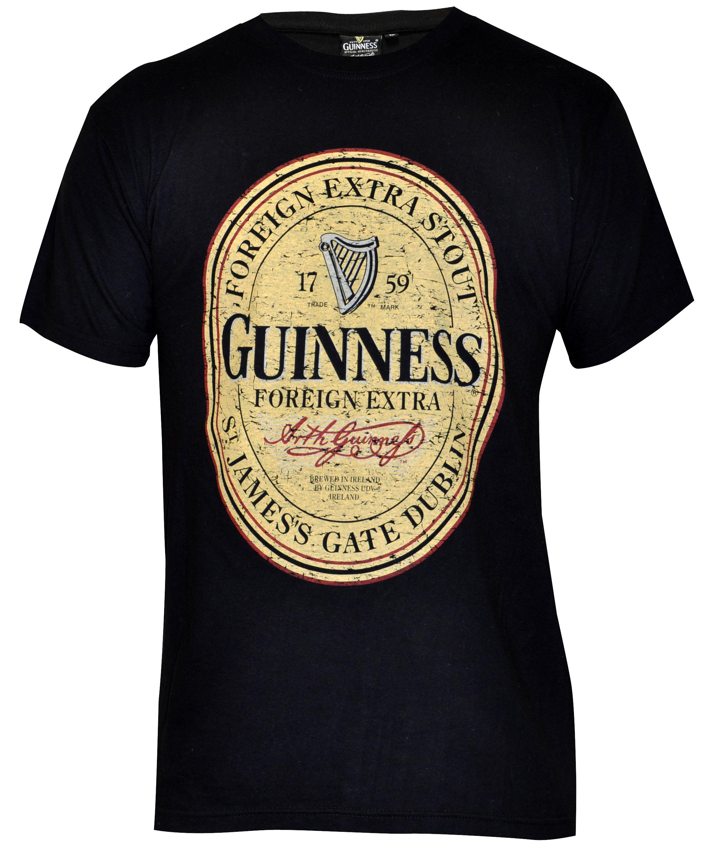 Guinness® Distressed English Label T-Shirt