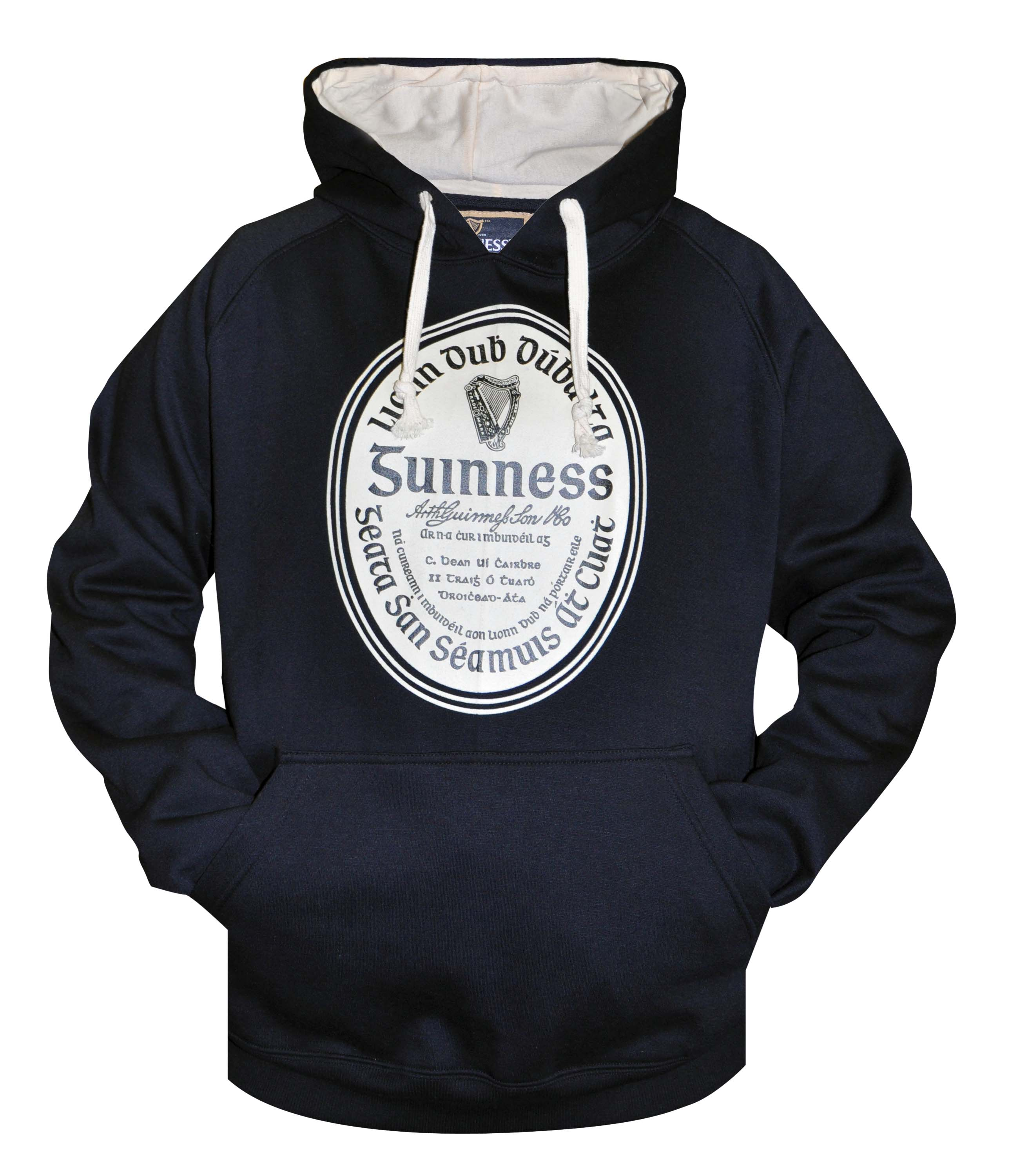 Guinness® Label Pullover Hoodie