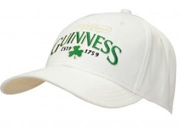 Guinness® White Shamrock Baseball Cap