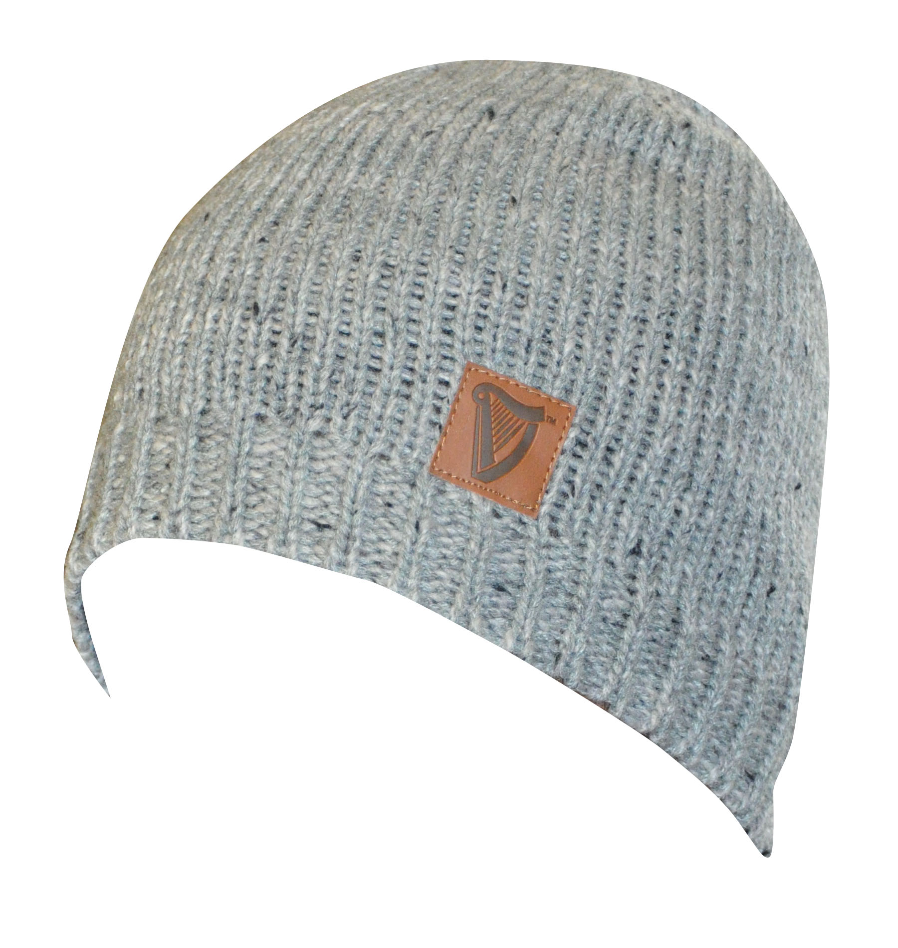 Grey Guinness® Fitted Yarn Beanie