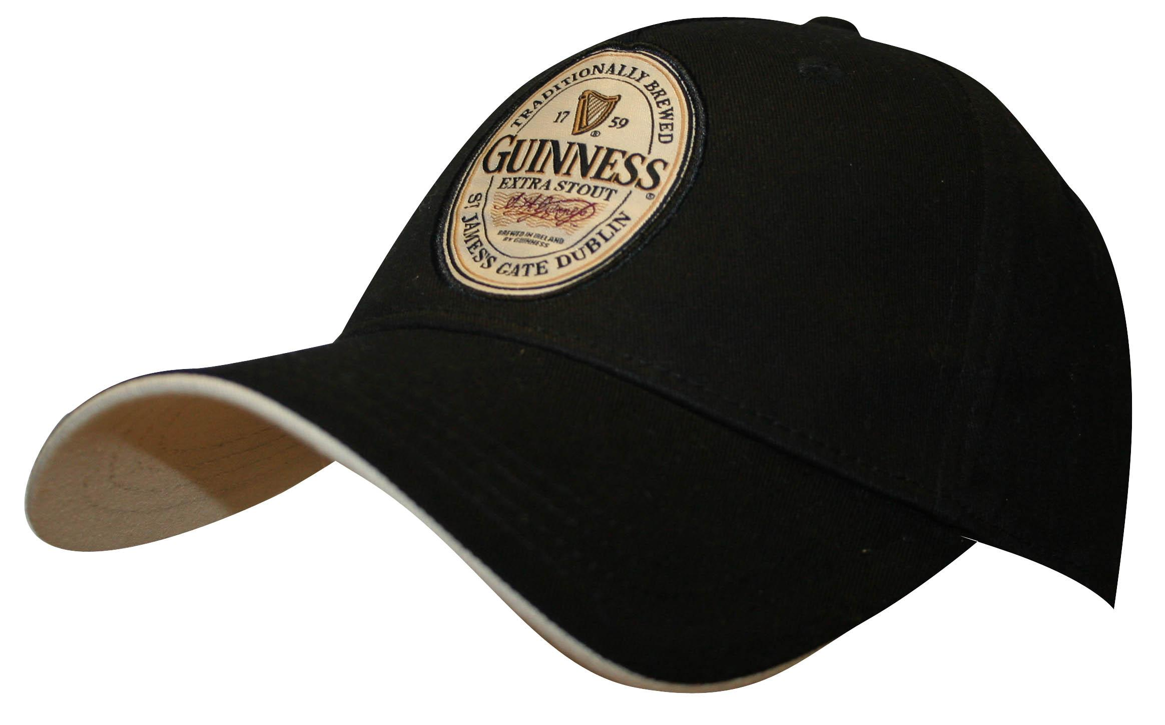 Guinness Black English Label Cap