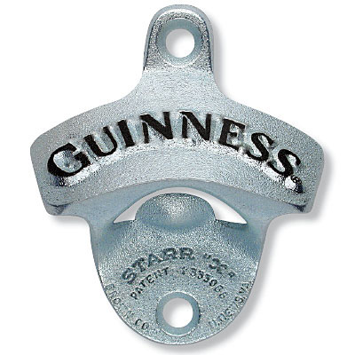 GUINNESS Wall Mount Bottle Opener