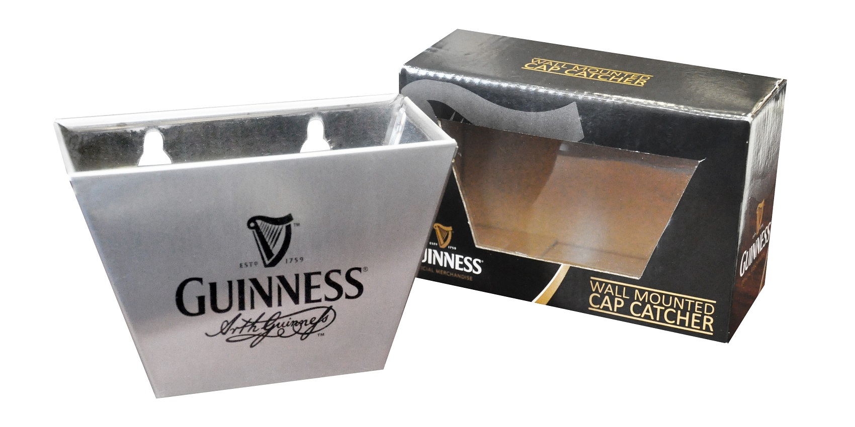 ARTHUR GUINNESS® SIGNATURE CAP CATCHER