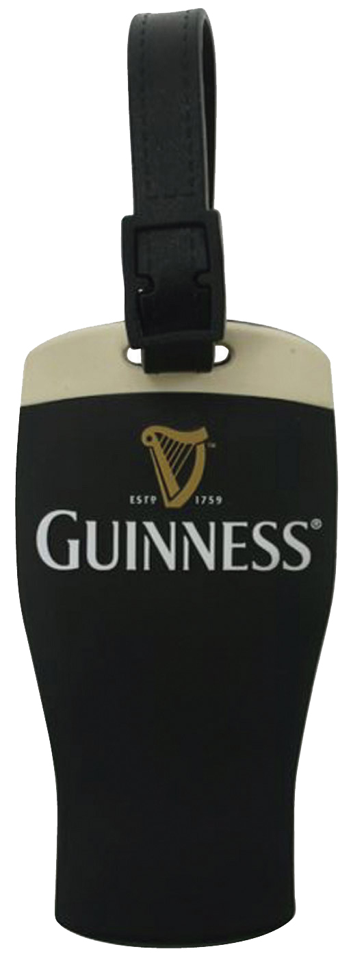 Guinness Contemporary Luggage Tag
