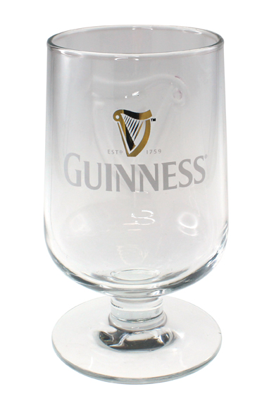 GUINNESS® EMBOSSED STEM GLASS