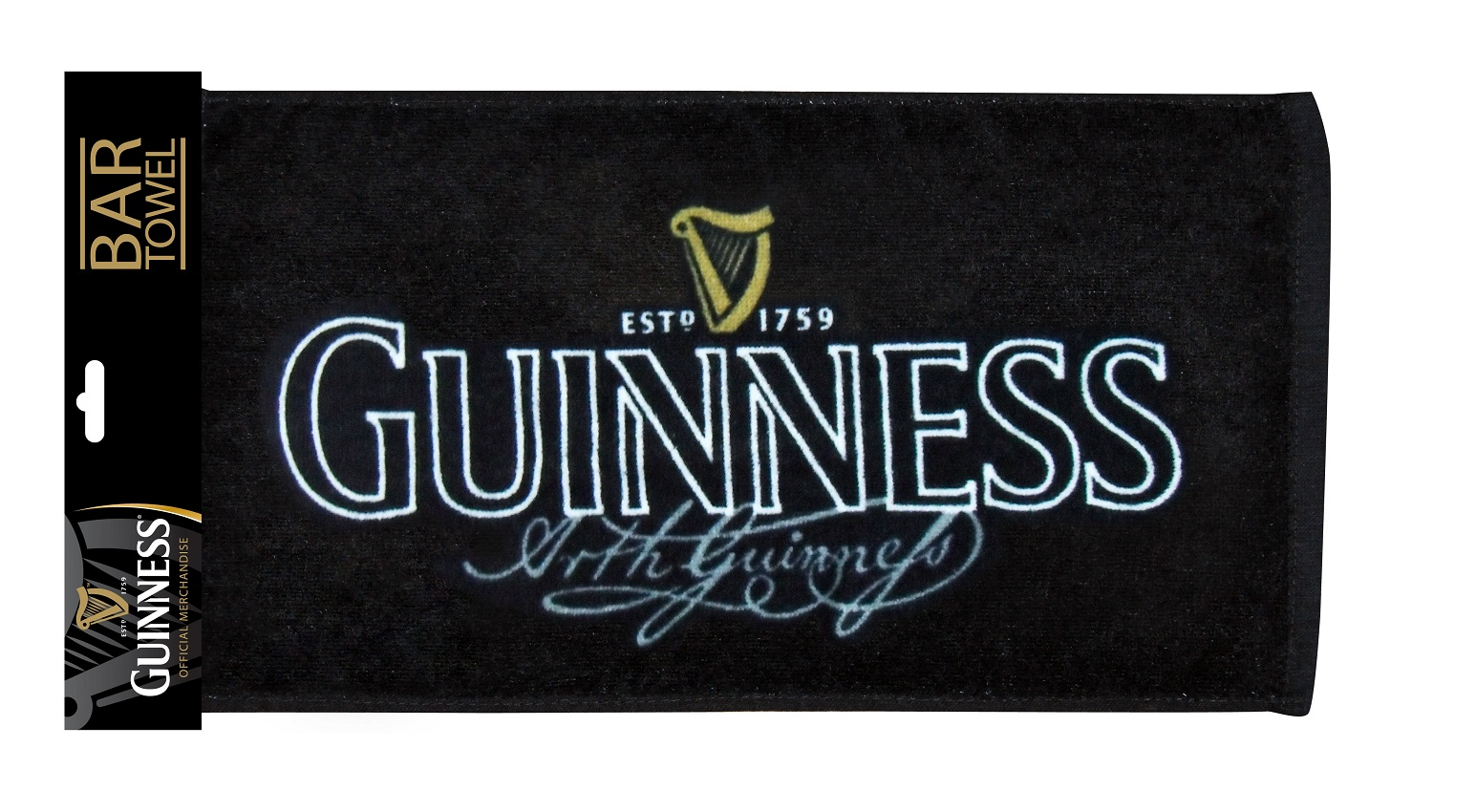 Arthur Guinness® Siganture Bar Towel