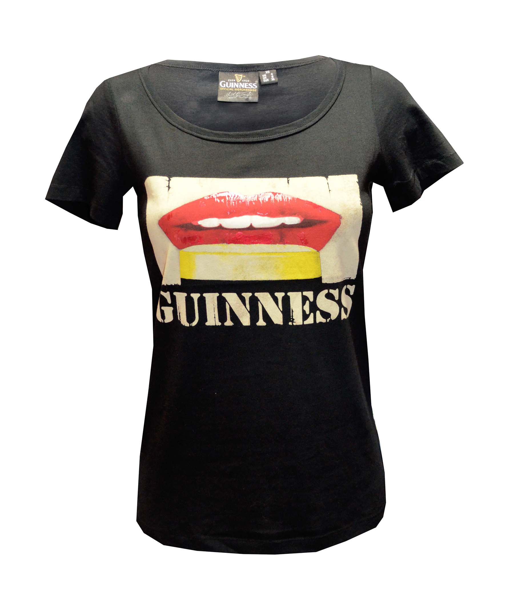 Red Lips Ladies T-shirt